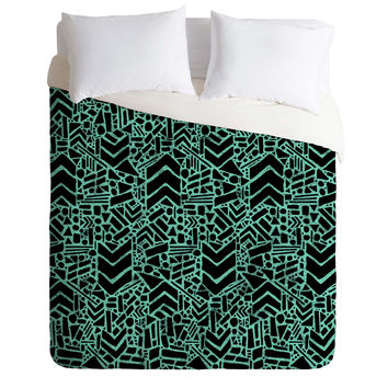Nick Nelson Microcosm Lagoon Duvet Cover