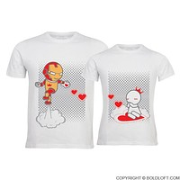 Keep Calm And Love Me™ His & Her Matching Couple Shirts