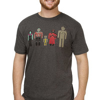 Minimal Guardians in a Minimal Galaxy T-Shirt - Heather Charcoal,