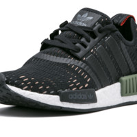 ADIDAS NMD R1 BB1357 BASE GREEN CORE BLACK NEW IN BOX UK SIZES 6.5, 7, 11.5