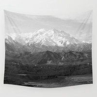 Mt McKinley Wall Tapestry by Kevin Russ