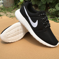 NIKE Women Men Running Sport Casual Shoes Sneakers Black starry sky