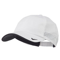 Nike Golf Dri-FIT Swoosh Perforated Cap - White OSFM