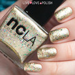 NCLA Bullion in a Bottle Nail Polish (Black Market Collection)