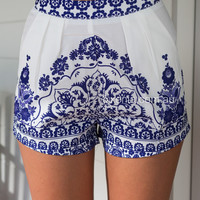 Porcelian Princess Shorts