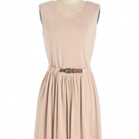ModCloth Sleeveless A-line Sand Ol' Time Dress