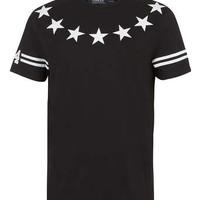 BLACK STARS AND STRIPES T-SHIRT - Men's T-shirts & Tanks - Clothing