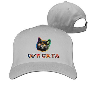 Ofwgkta Odd Future Cat Adjustable Plain Hat Ash