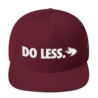 The 'Do Less' Snapback in Maroon