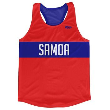 Samoa Country Finish Line Running Tank Top Racerback Track and Cross Country Singlet Jersey