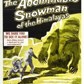 """Abominable Snowman The Movie poster 16""""x24"""" Poster 16inx24in"""