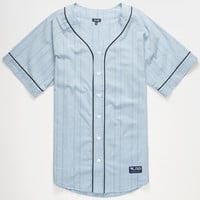 Lrg Baseball Jersey Blue  In Sizes
