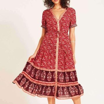 Playful Chic Gypsy Sundress