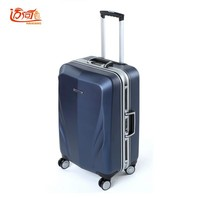 "20""22""24""26""28""inch crashproof koffer custom Lock suitcases Aluminum frame+PC travel trolley luggage suit case for travel"
