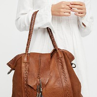 Isle Distressed Tote