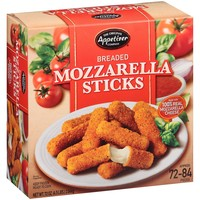 The Original Appetizer Company Breaded Mozzarella Sticks (72 oz.)