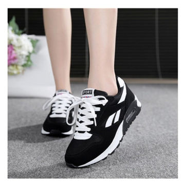 New 2016 Fashion Flats Women Trainers Breathable Sport Woman Shoes Casual Outdoor Walking Women Flats Trainers Zapatillas Mujer