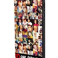 One Direction Collection Custom Case for Iphone 5/5s Iphone 6/6 Plus Black and White (iPhone 5/5s Black Plastic)