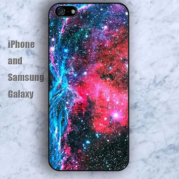 Nebula star shine colorful iPhone 5/5S Ipod touch Silicone Rubber Case, Phone cover