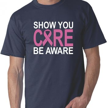 Breast Cancer Survivor Gift - Pink Ribbon Show You Care T-shirts