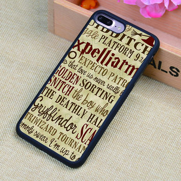 Harry Potter hogwarts Quotes Soft Rubber Mobile Phone Cases For iPhone 6 6S Plus 7 7 Plus 5 5S 5C SE 4 4S Cover Skin Shell
