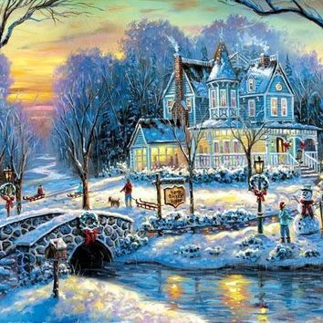 A White Christmas 1000pc Jigsaw Puzzle