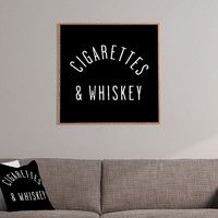 Cigarettes N Whiskey by Leeana Benson