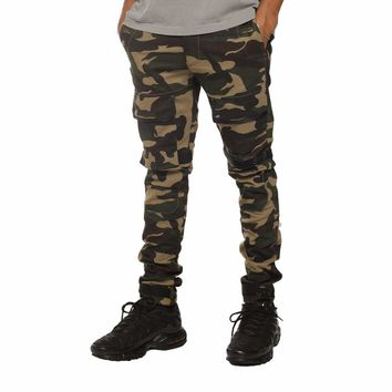 Strapped Up Slim Utility Pant Camo