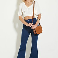 Flare High-Waisted Jeans