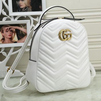 GUCCI Women Fashion Shoulder Bag Bookbag Backpack Daypack