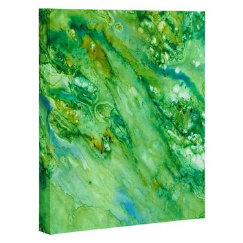 Rosie Brown Emerald Fantasy Art Canvas
