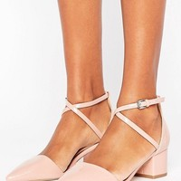 Miss KG Ava Two Part Mid Heeled Shoes at asos.com