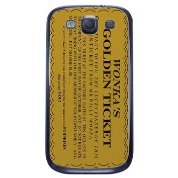 Willy Wonka Samsung Galaxy S3 Case