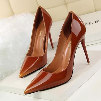Woman High Heels Pumps