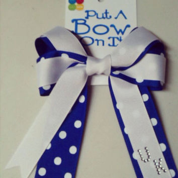 University of Kentucky Inspired Hair Bow