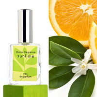 Sunlime ™ perfume spray. Lime, grapefruit, orange, citrus fresh.