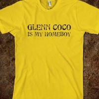Glenn Coco is my homeboy - Shlongbottom