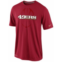 San Francisco 49ers NFL Nike Legend Dri-Fit t-shirt NWT NFC new with tags