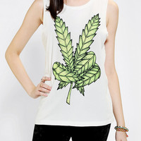 Urban Outfitters - Mont La Roc Leaf Muscle Tee