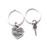 Couples Keyrings, Only The Keyholder Can Unlock My Heart, Boyfriend Girlfriend Keychains, Keyring Set, Heart and Key, Best Friends, Teenager
