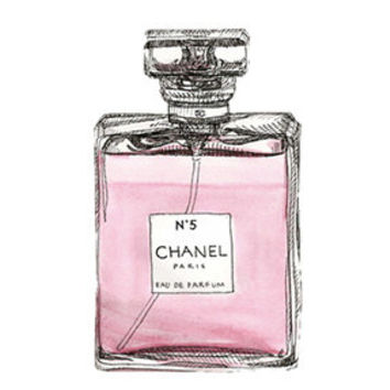 Chanel Perfume Bottle Decal
