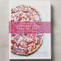 Summer Berries & Autumn Fruits by Anthropologie in Purple Size: One Size Books