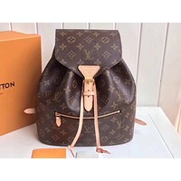 LV Hot Selling Fashion Coloured Lady's Backpack