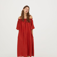 H&M Off-the-shoulder Dress $49.99