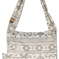 Dust, Boho Print, Large Canvas Tote