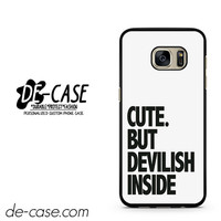 Cute But Devilish Inside DEAL-2898 Samsung Phonecase Cover For Samsung Galaxy S7 / S7 Edge