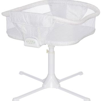 HALO Bassinest Twin Sleeper Double Bassinet Infant Sand Circle Baby Crib