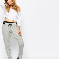 Puma Contrast Waist Band Sweat Pants