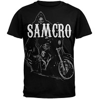 Sons of Anarchy - Reaper on Bike T-Shirt