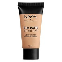 NYX Stay Matte But Not Flat Liquid Foundation - Natural - #SMF03